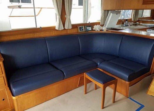 TNT Marine Canvas and Upholstery - Boat Cushions, Canvas